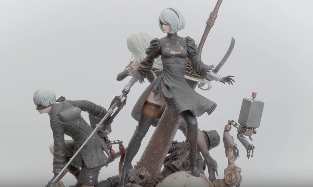 Stunning NieR: Automata statue coming from Prime 1 Studio screenshot