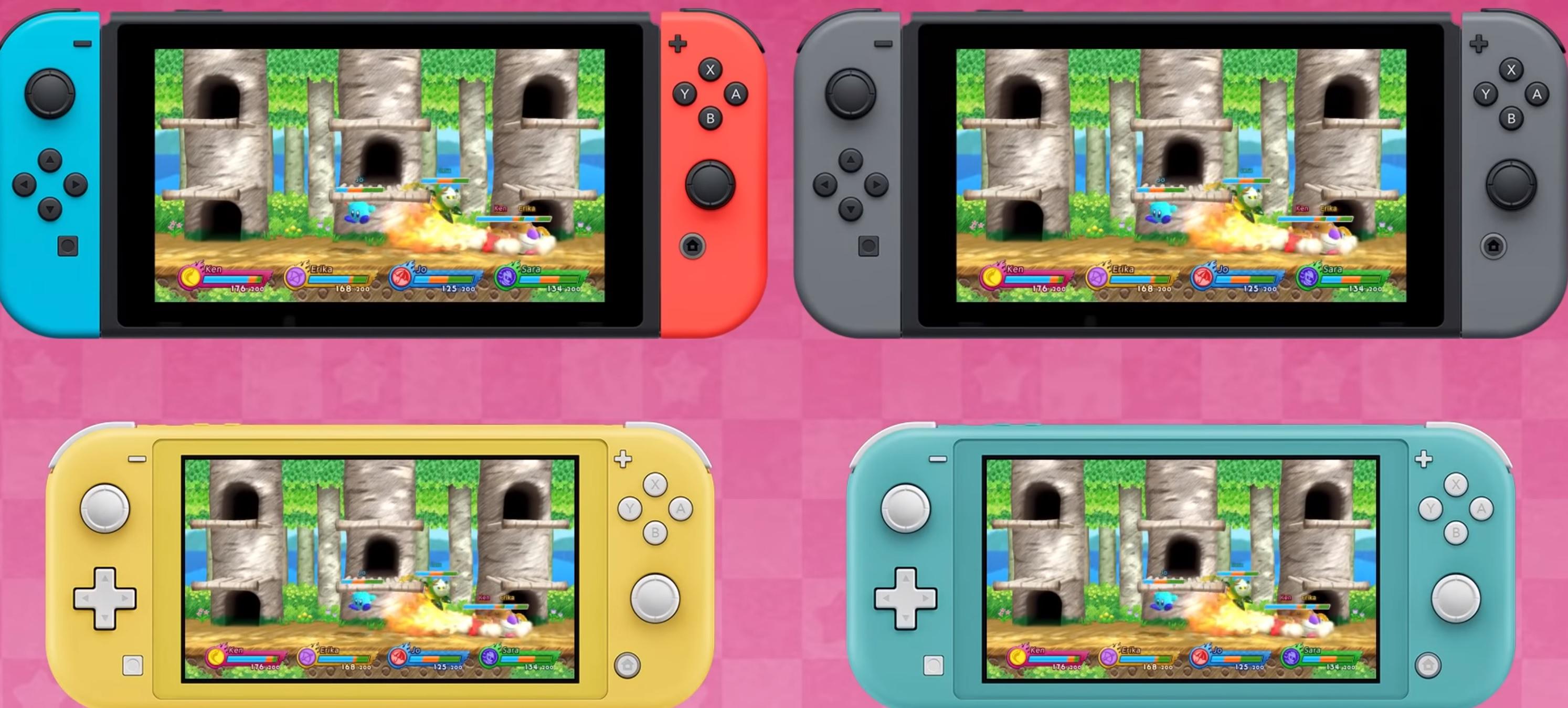 Nintendo Download: Kirby Fighters 2 screenshot