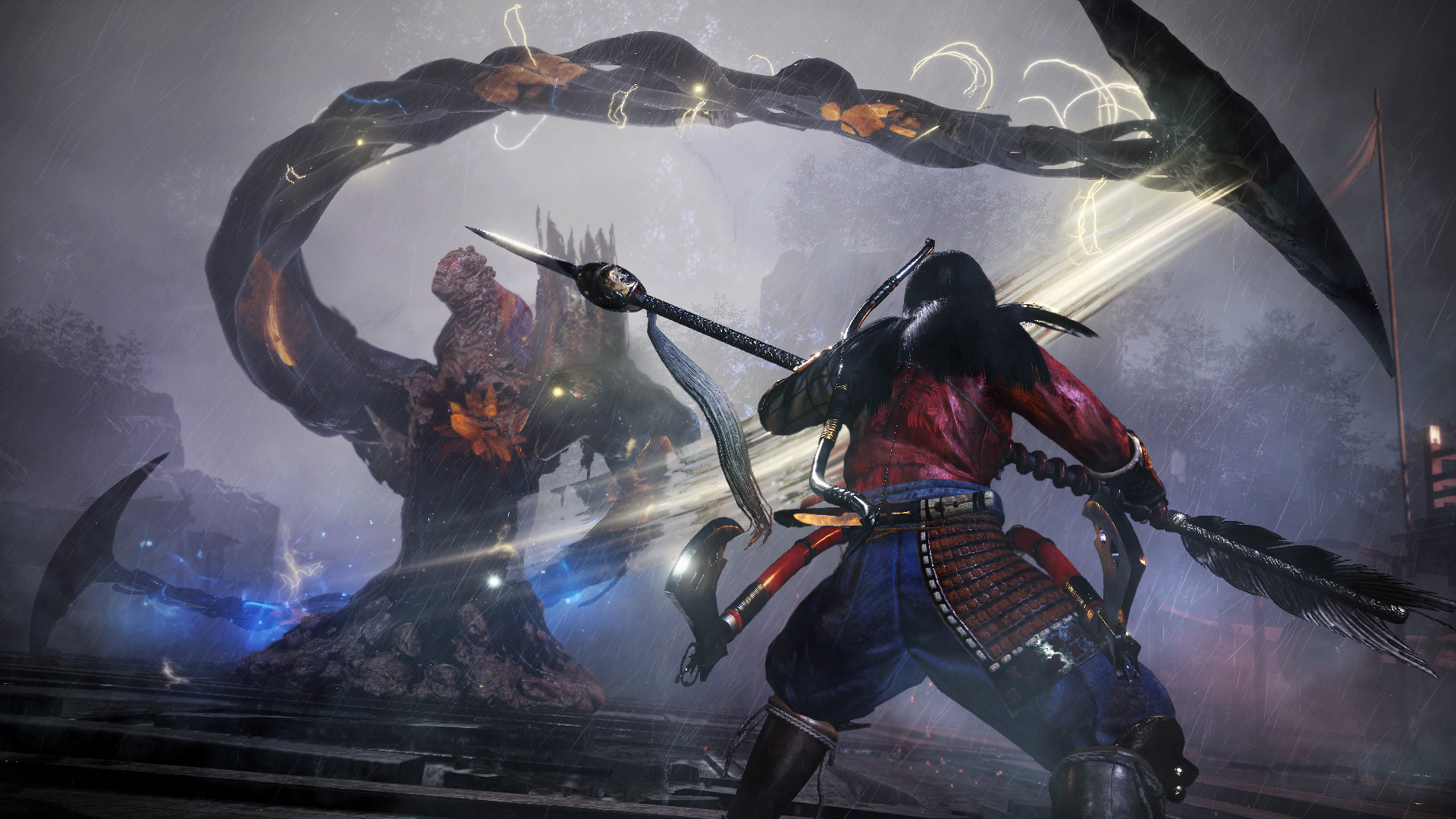 Nioh 2's big second DLC is out in just a few weeks screenshot