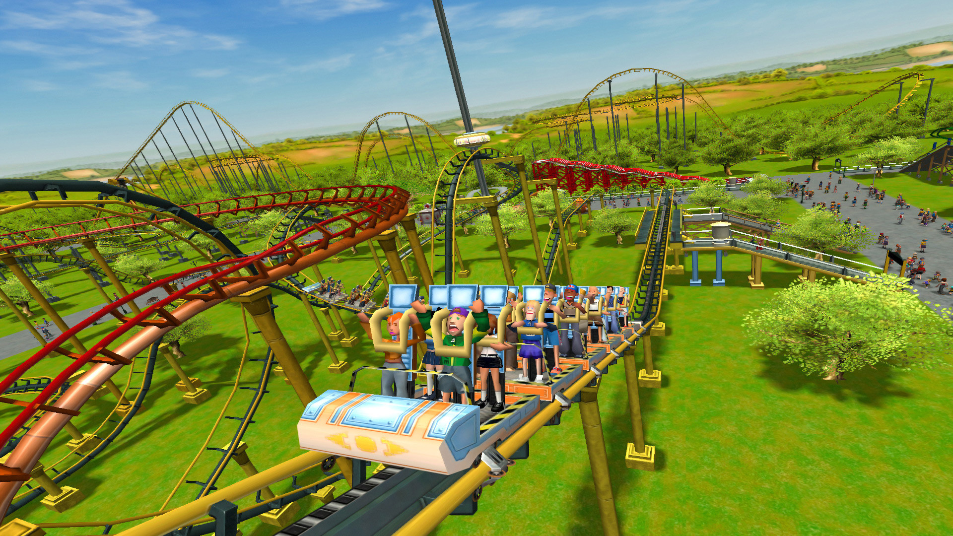 RollerCoaster Tycoon 3: Complete Edition is free to grab on the Epic Games Store screenshot
