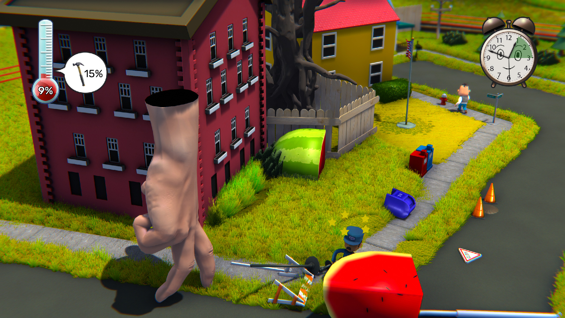 Starstruck: Hands of Time captures that wacky experimental PS1 energy so well screenshot