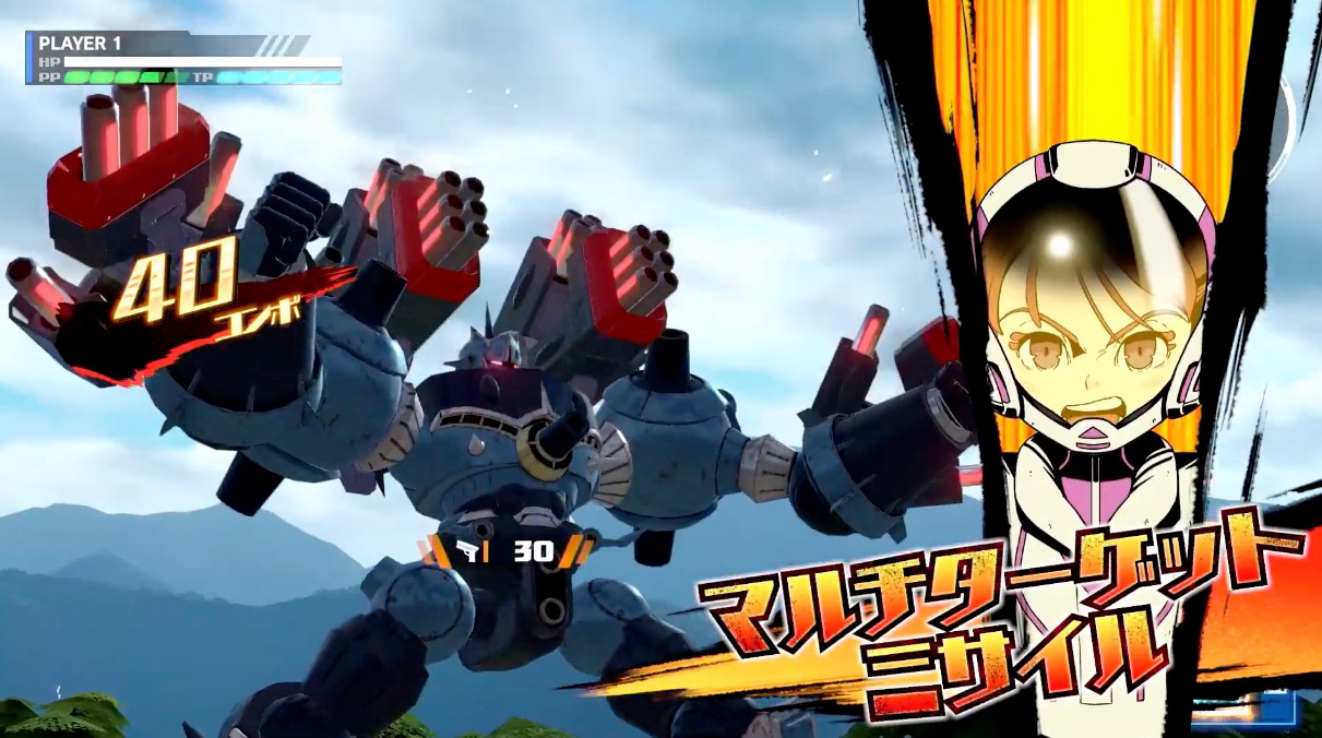 Megaton Musashi's Tokyo Game Show trailer gives us our best look at the game yet screenshot