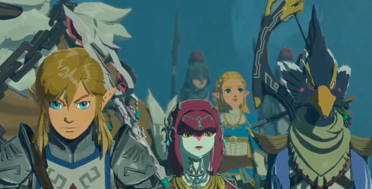 New Hyrule Warriors: Age of Calamity trailer unites the four Champions from Breath of the Wild screenshot