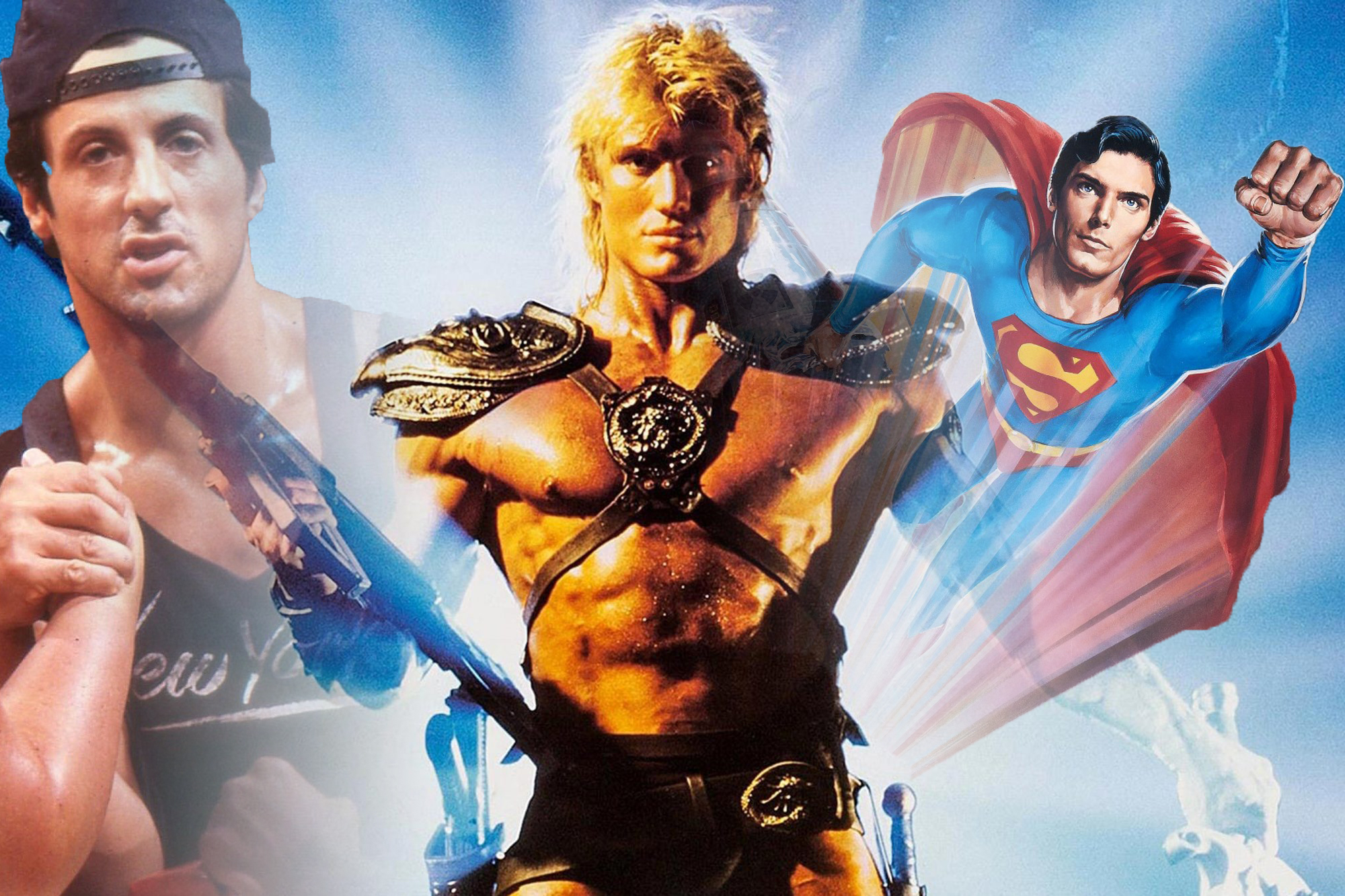 Podtoid asks which film is worse: Superman IV, Over the Top, or Masters of the Universe? screenshot