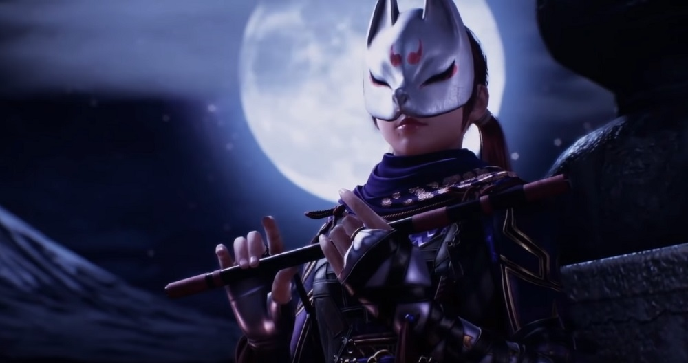 Kunimitsu II will bring her ninja ways to Tekken 7 this fall screenshot