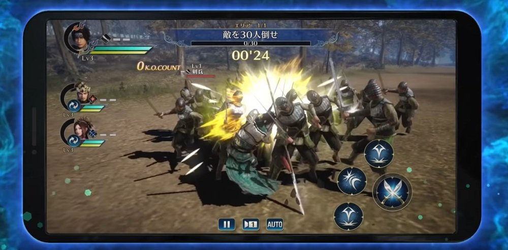 Dynasty Warriors is coming to iOS and Android screenshot