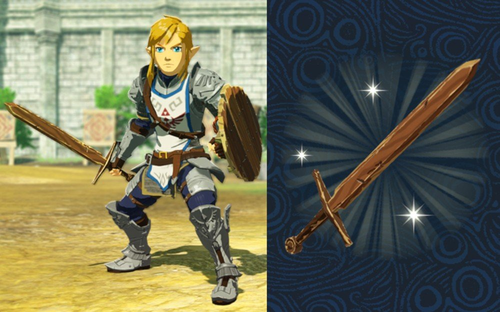Hyrule Warriors: Age of Calamity will have a small Zelda: Breath of the Wild save data bonus screenshot