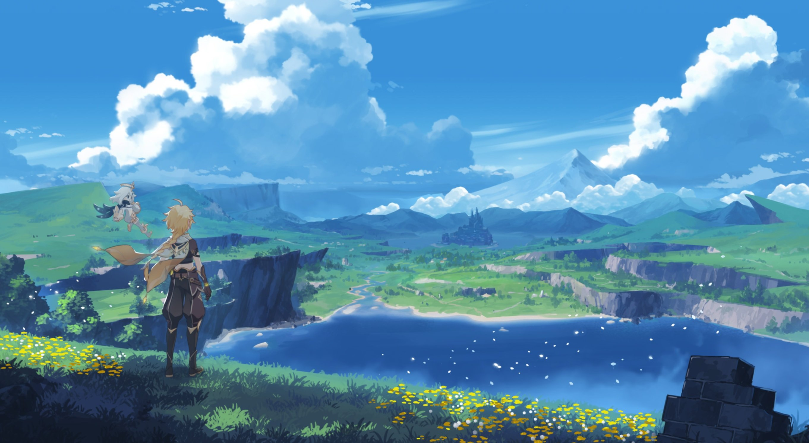 Genshin Impact developers reiterate that Zelda: Breath of the Wild was an inspiration, but the game is also 'very different' screenshot