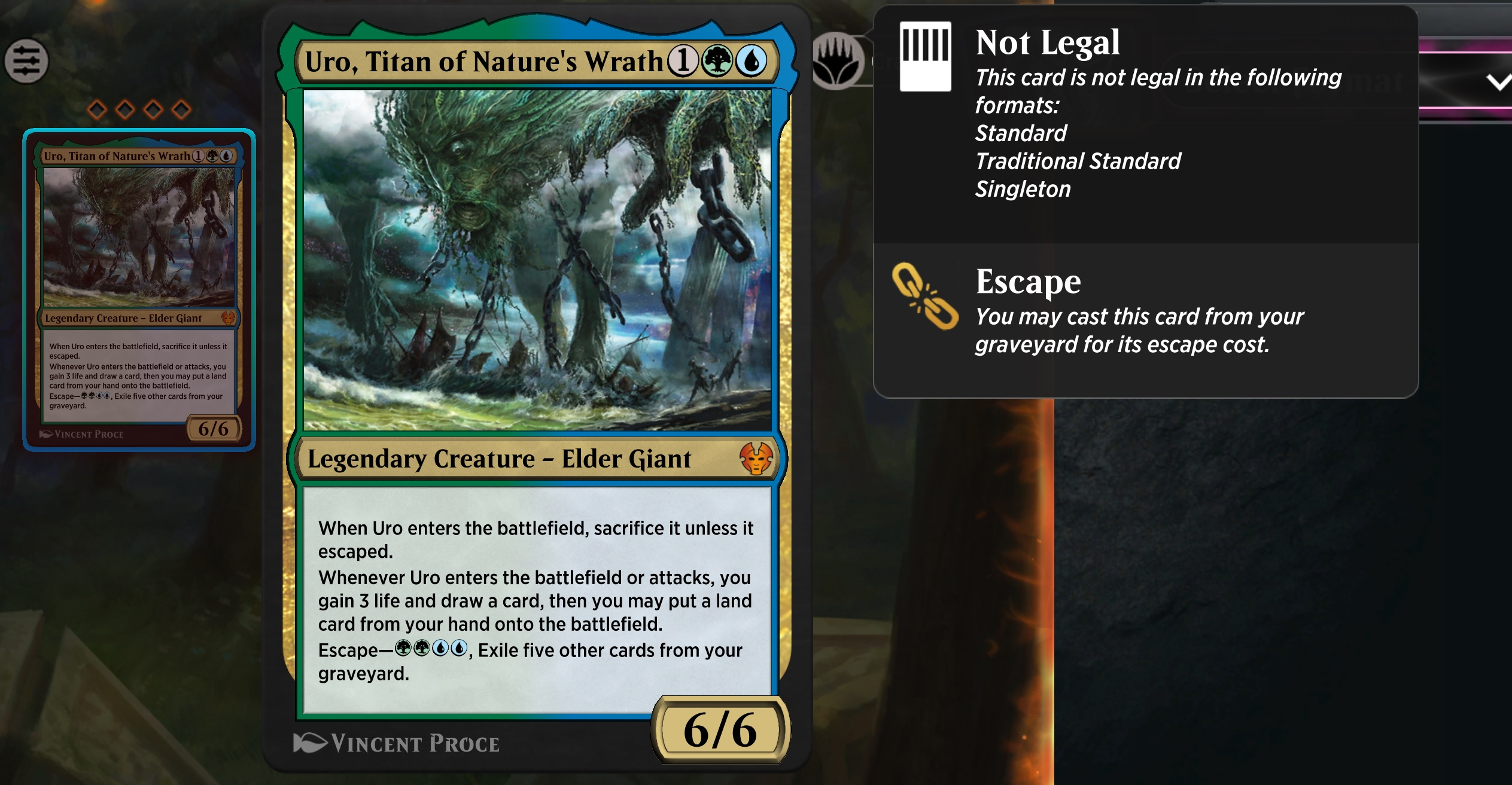 Uro has been banned in Magic: The Gathering and Arena, but is it enough? screenshot