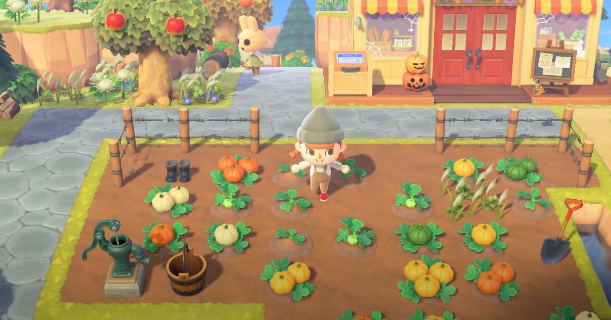 The fall update for Animal Crossing: New Horizons is available for download screenshot