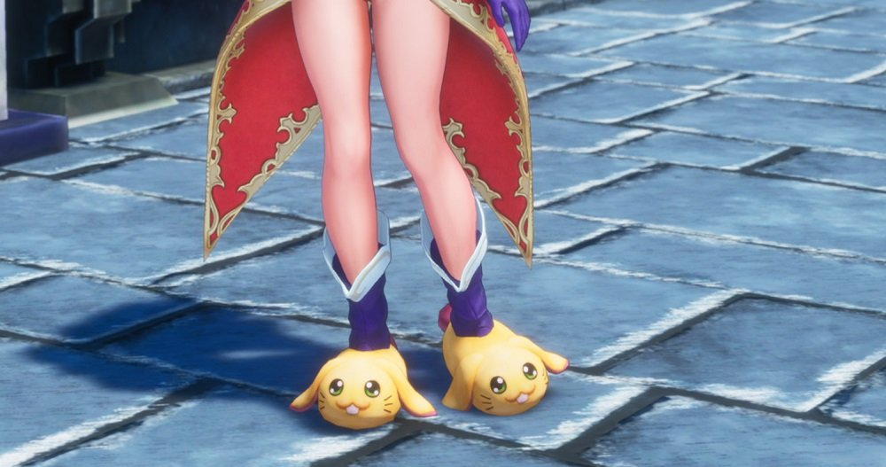 Trials of Mana Version 1.1.0 update will include bunny slippers screenshot