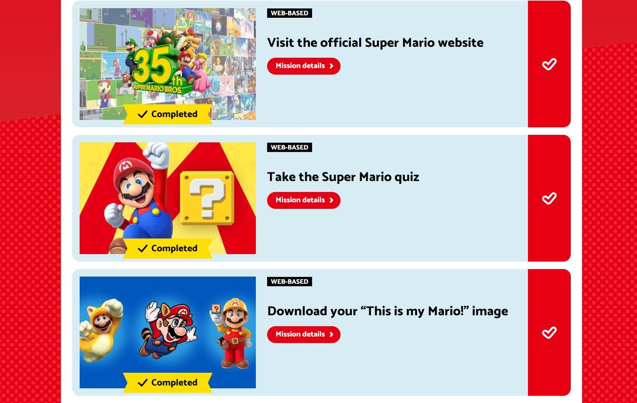 The My Nintendo Mario pin set shortage situation was just plain weird screenshot