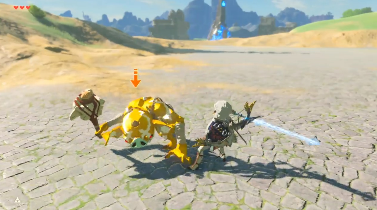 Here's a supercut of a ton of great Zelda: Breath of the Wild combat tips screenshot