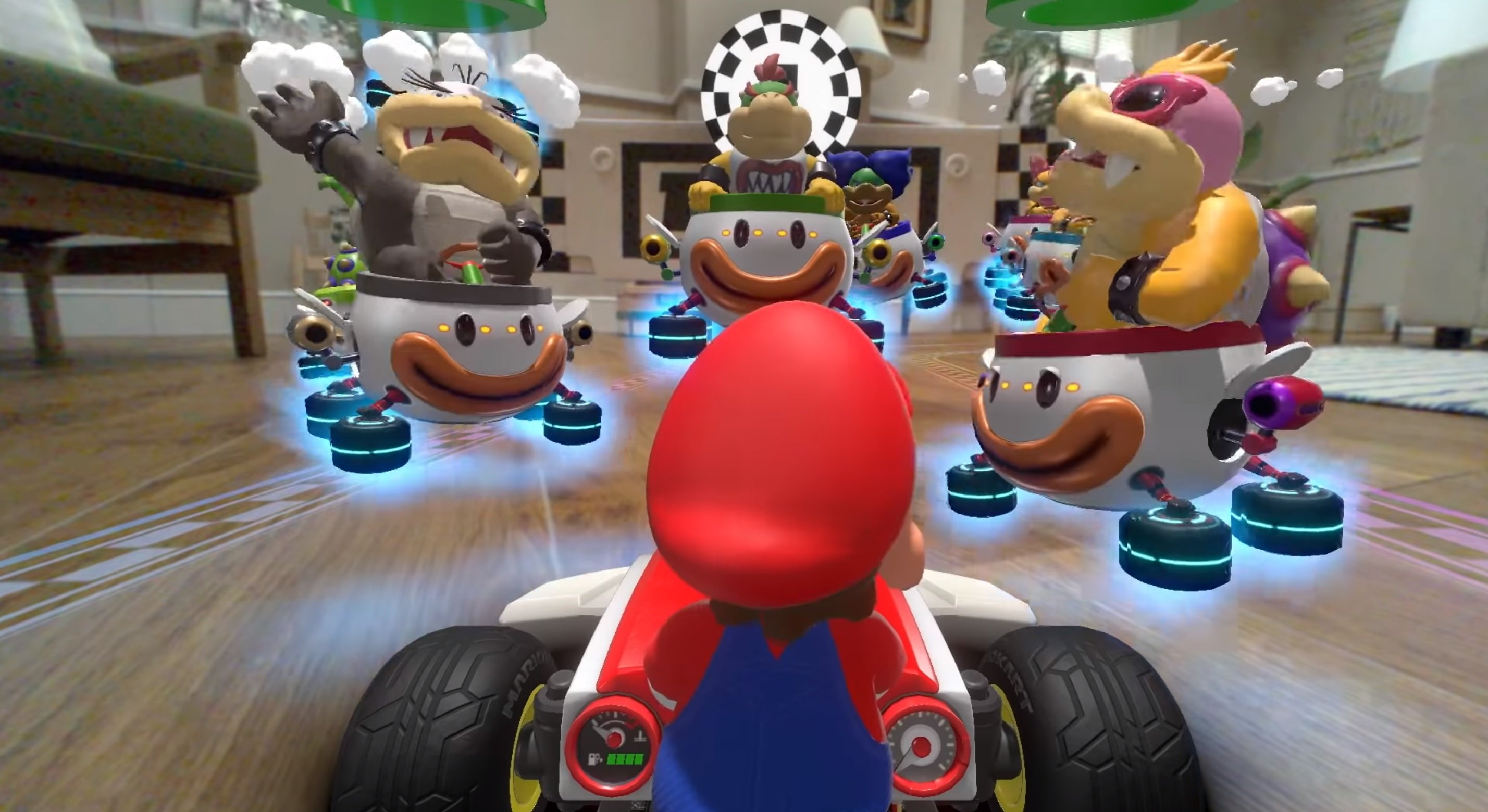 Nintendo unveils new details for Mario Kart Live, like its 24-race Grand Prix mode screenshot