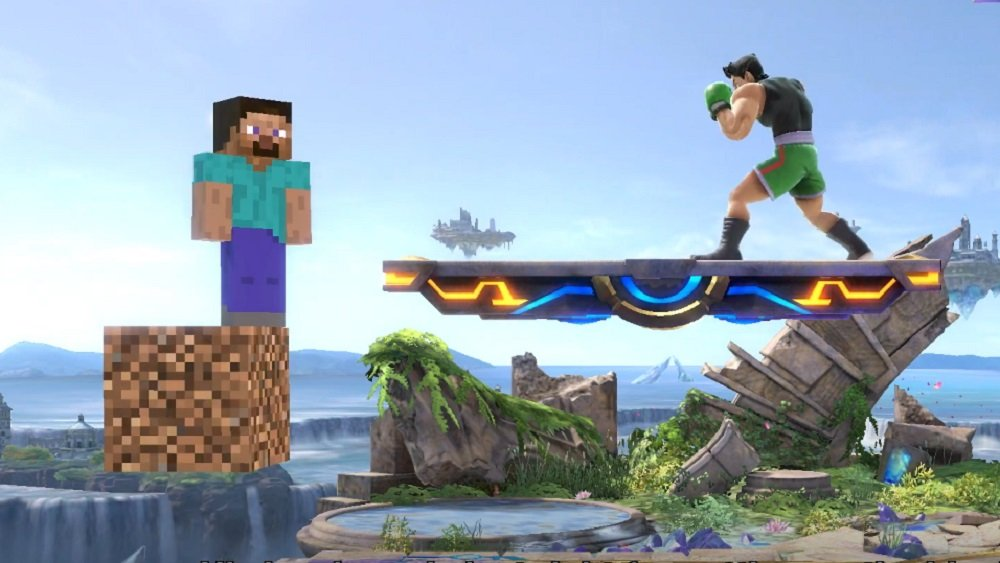 Minecraft Steve is coming to Super Smash Bros. Ultimate October 13 screenshot