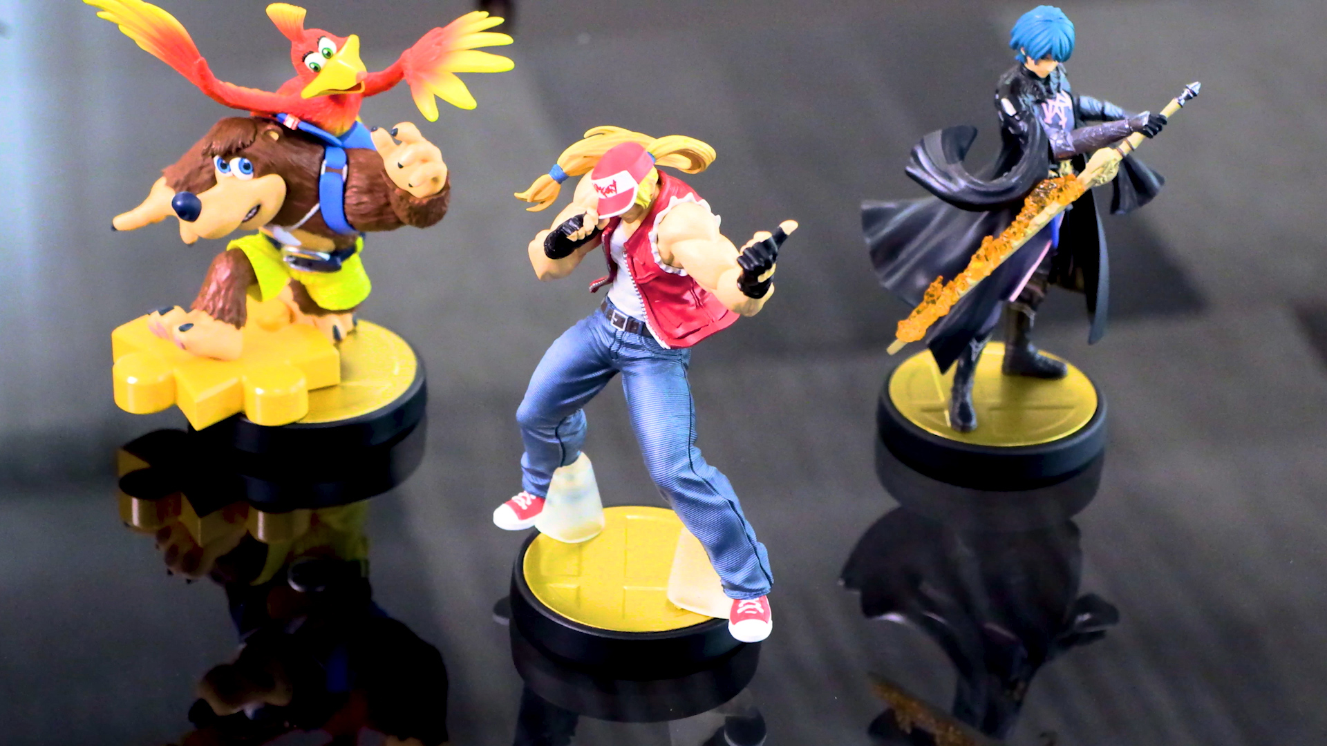 amiibo for Banjo-Kazooie, Fatal Fury's Terry, and Fire Emblem's Byleth are coming next year screenshot