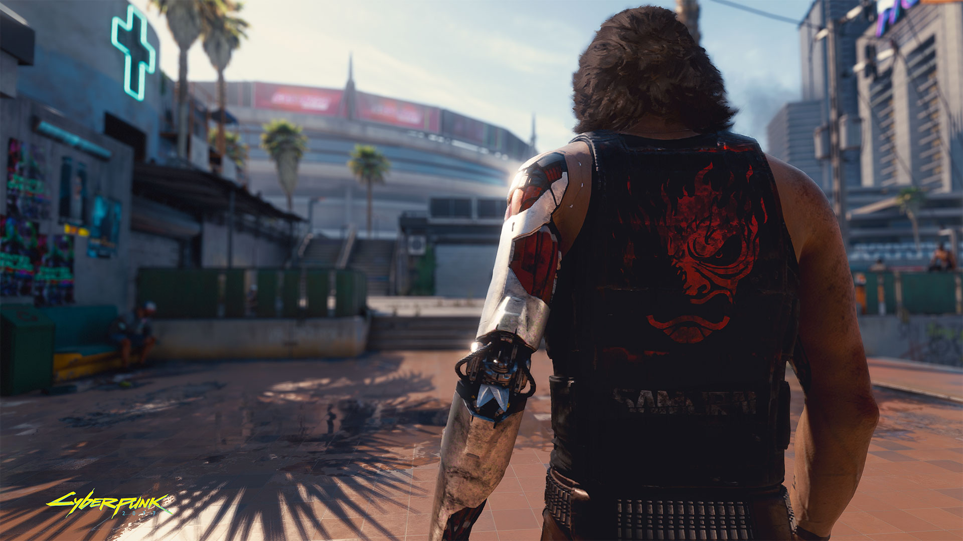 A look at Cyberpunk 2077's map shows that last year's leak was accurate enough screenshot