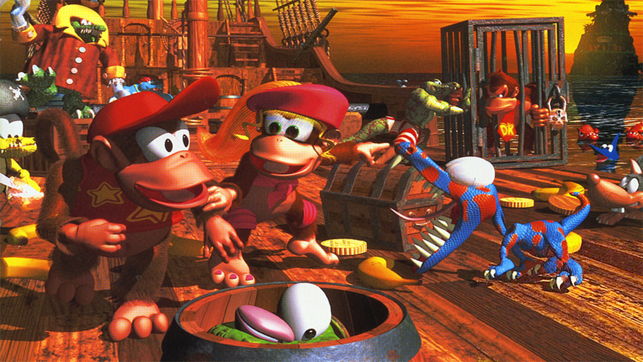 Nintendo reminds us that Diddy's Kong Quest is one of the sneakiest titles in gaming history screenshot