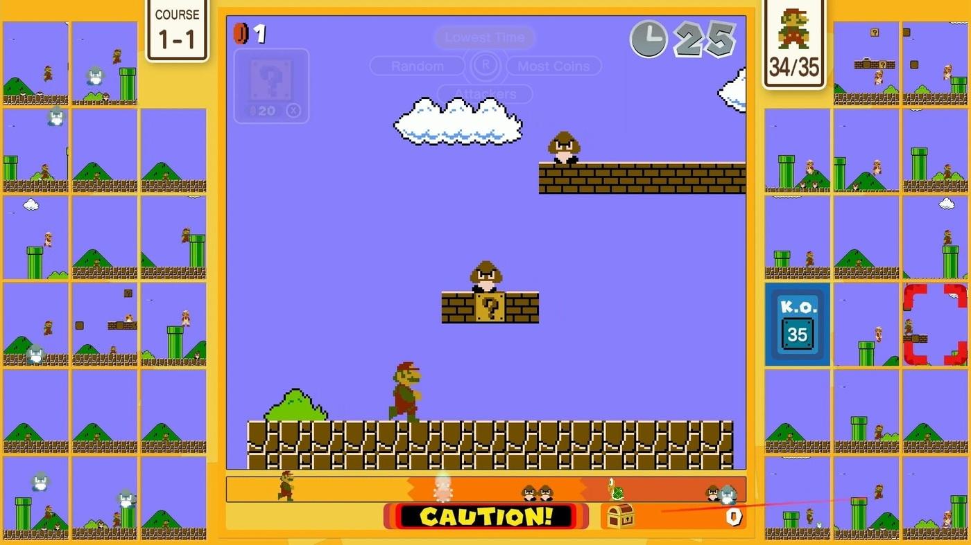 Review: Super Mario Bros. 35 screenshot