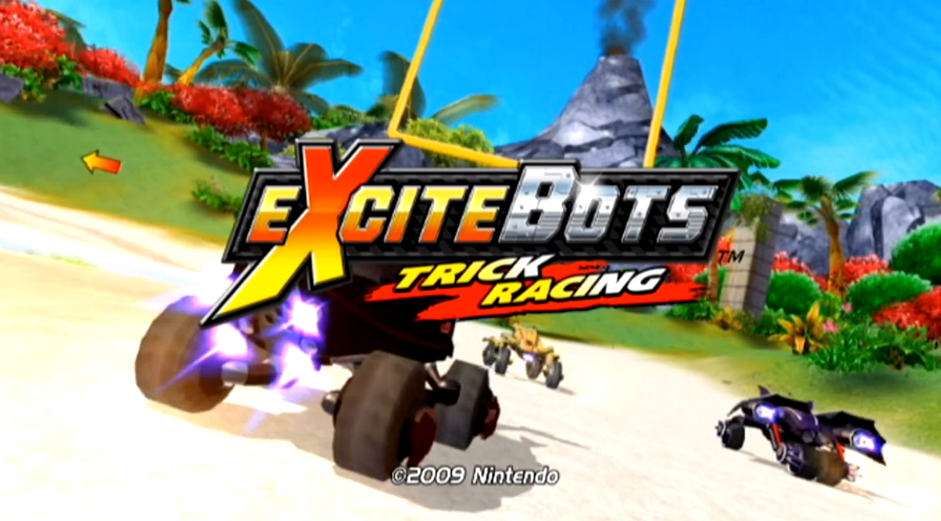 Revisiting the infinite joy of Excitebots: Trick Racing screenshot