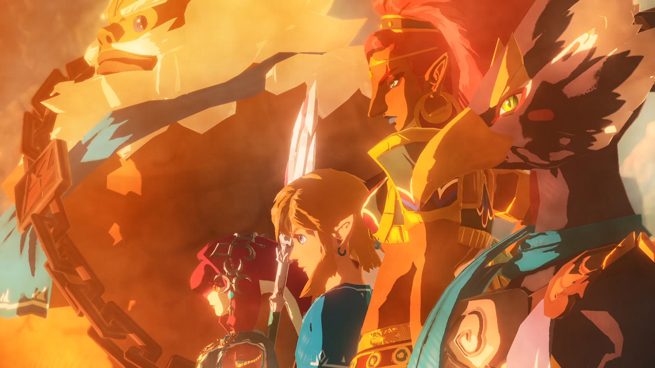 Tomorrow's Nintendo Treehouse Live is all about Hyrule Warriors: Age of Calamity and Pikmin 3 Deluxe screenshot