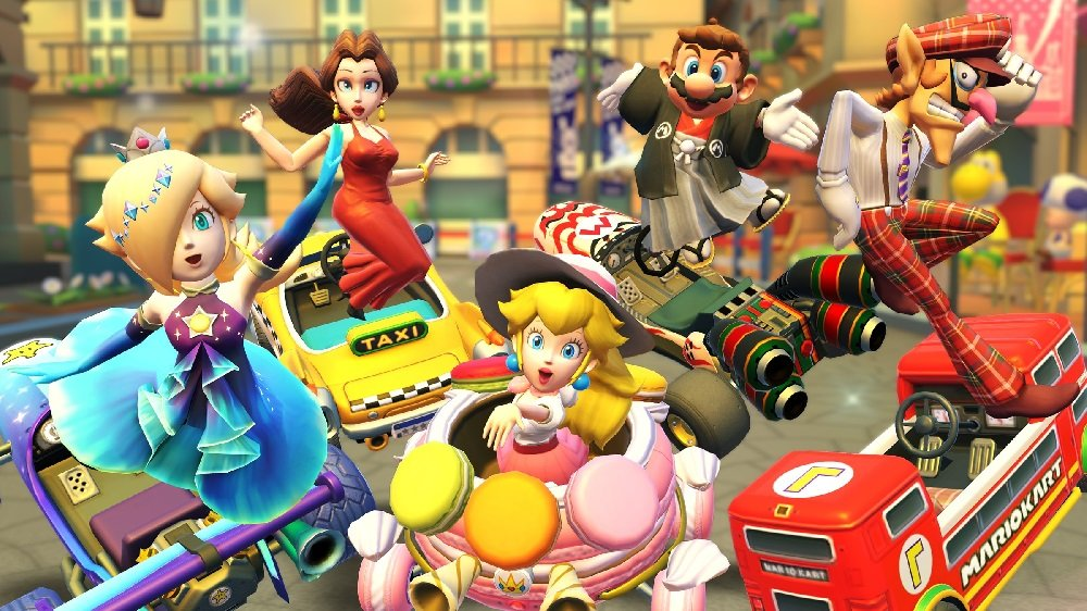Mario Kart Tour reflects on its first year with new anniversary tour screenshot