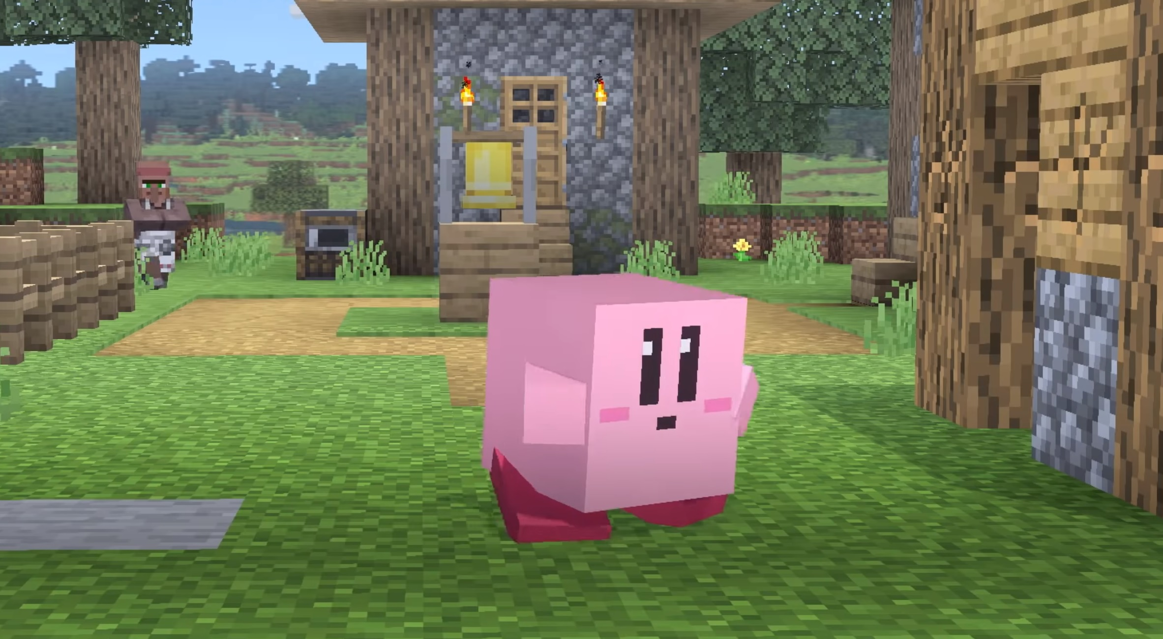 Smash Ultimate's next big balance patch will arrive with the new Minecraft additions screenshot