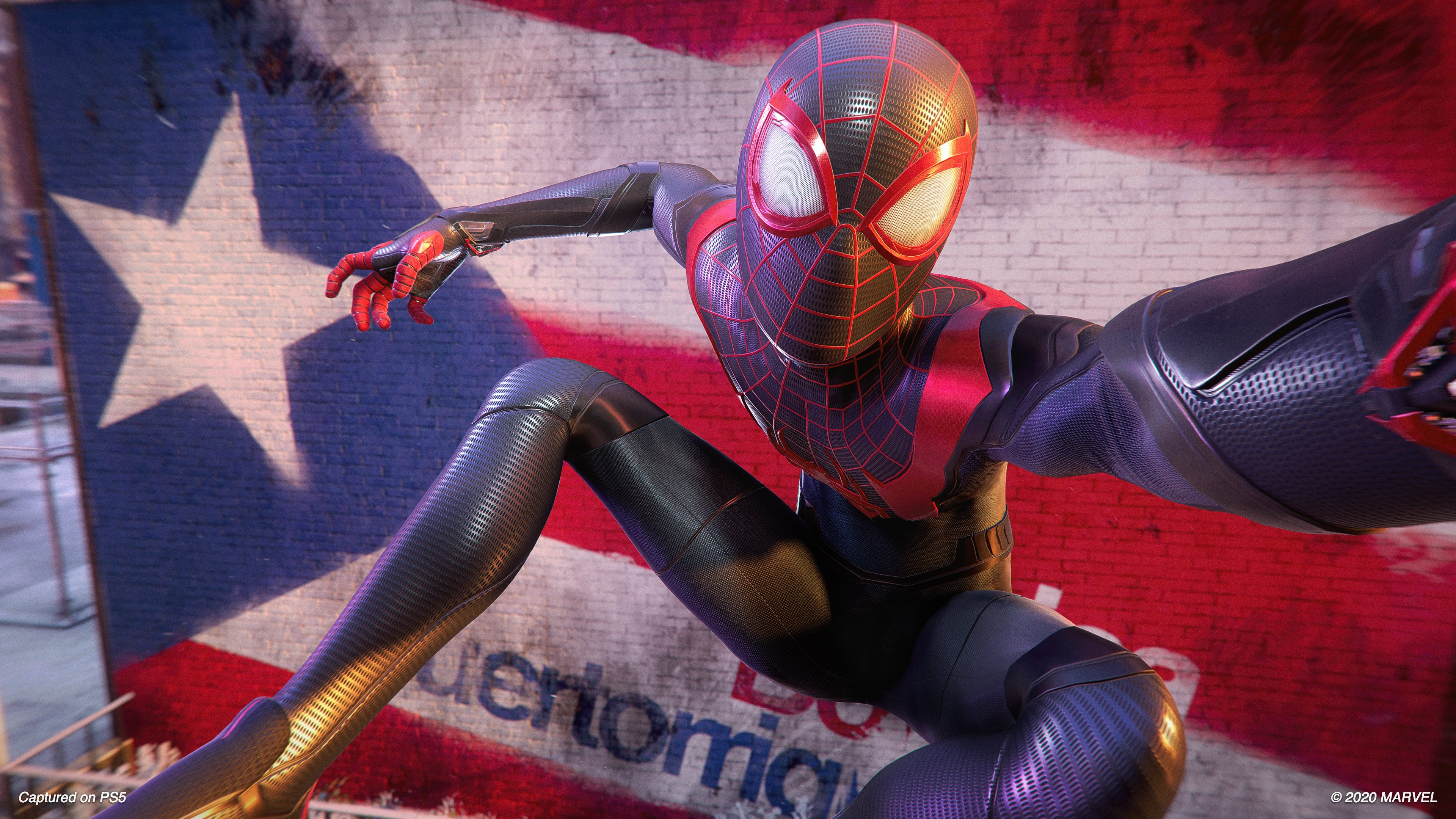 Marvel is publishing a Spider-Man: Miles Morales prequel screenshot