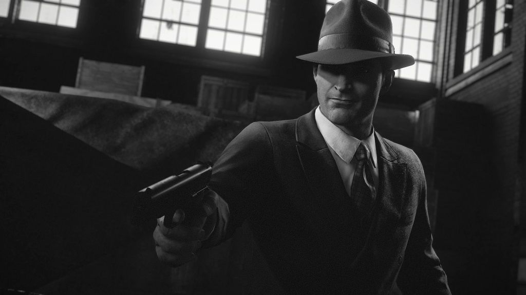 Mafia gets a lot more stylish and moody with its new noir mode screenshot