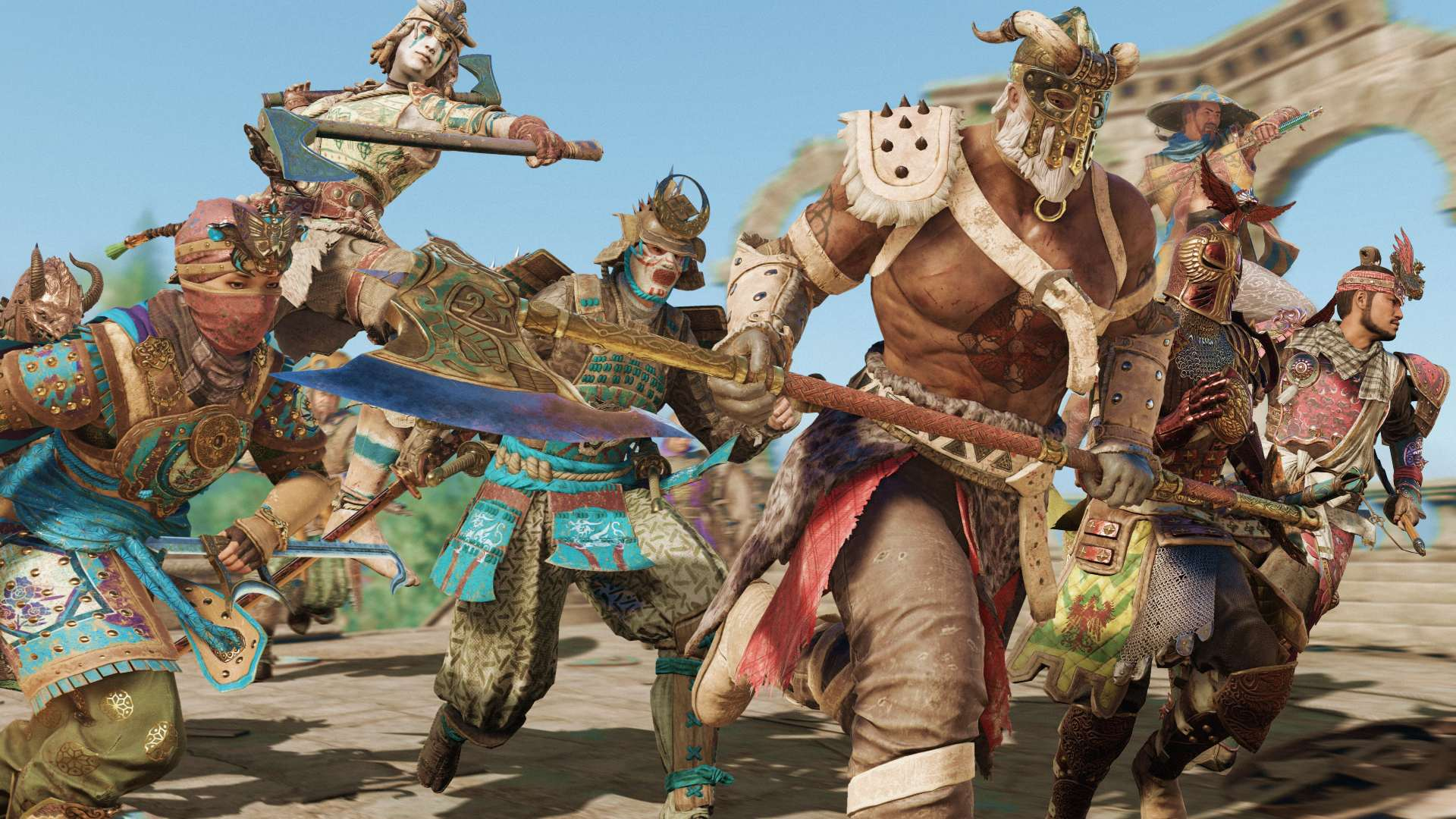 Ubisoft hit For Honor is coming to next-gen consoles with a free upgrade and a full progression import screenshot