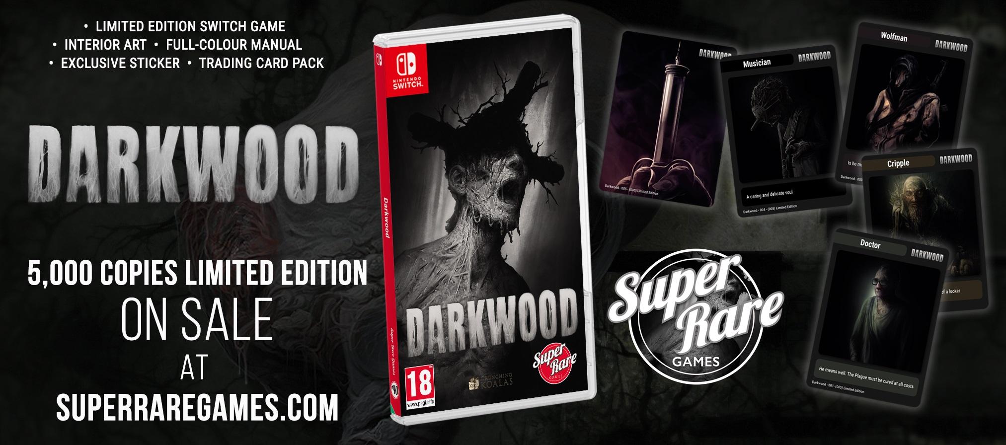 Darkwood contest Super Rare Games win Switch Halloween horror