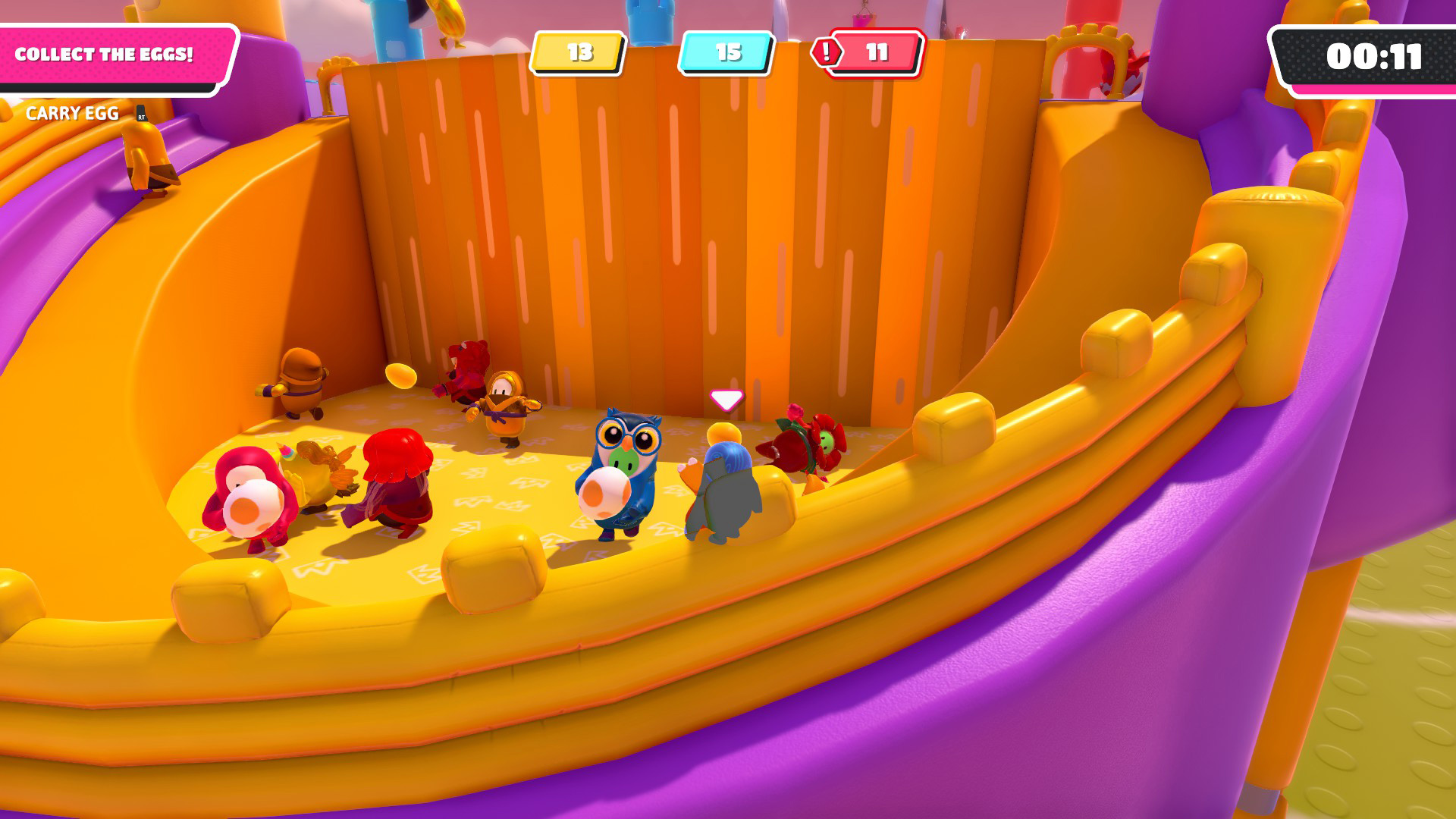 Fall Guys doesn't make it easy to play the four new Season 2 levels screenshot