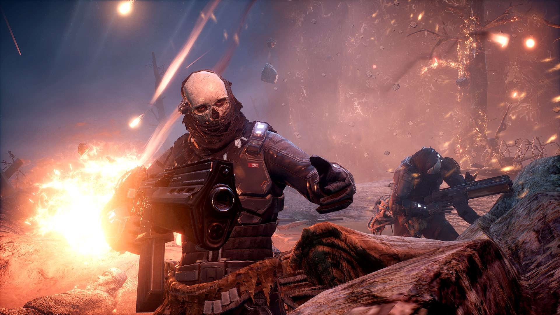 Outriders, the Destiny meets Gears of War shooter, has been pushed back to next year screenshot