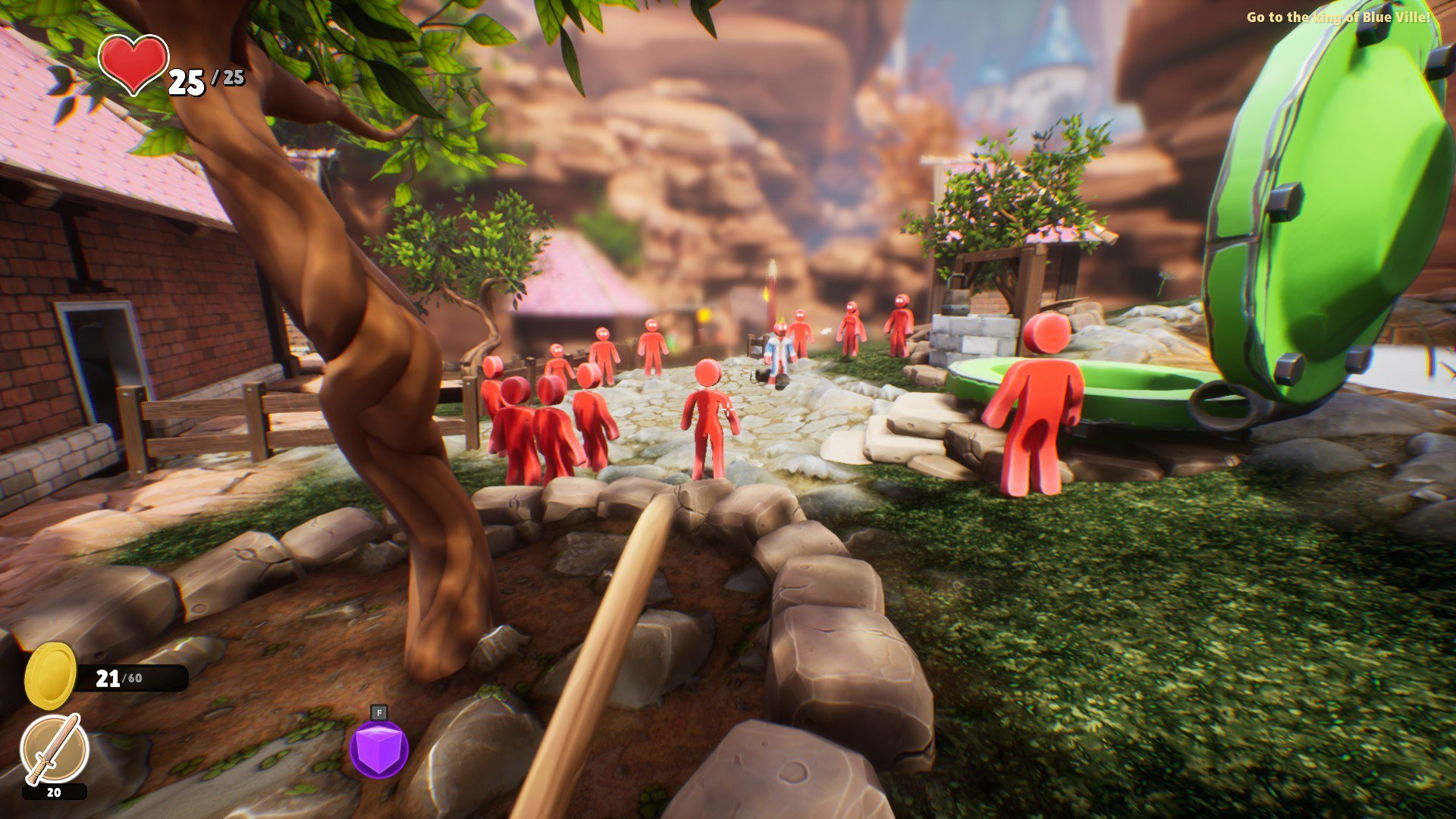 Supraland is bringing its Zelda, Portal, and Metroid-inspired sandbox to consoles screenshot
