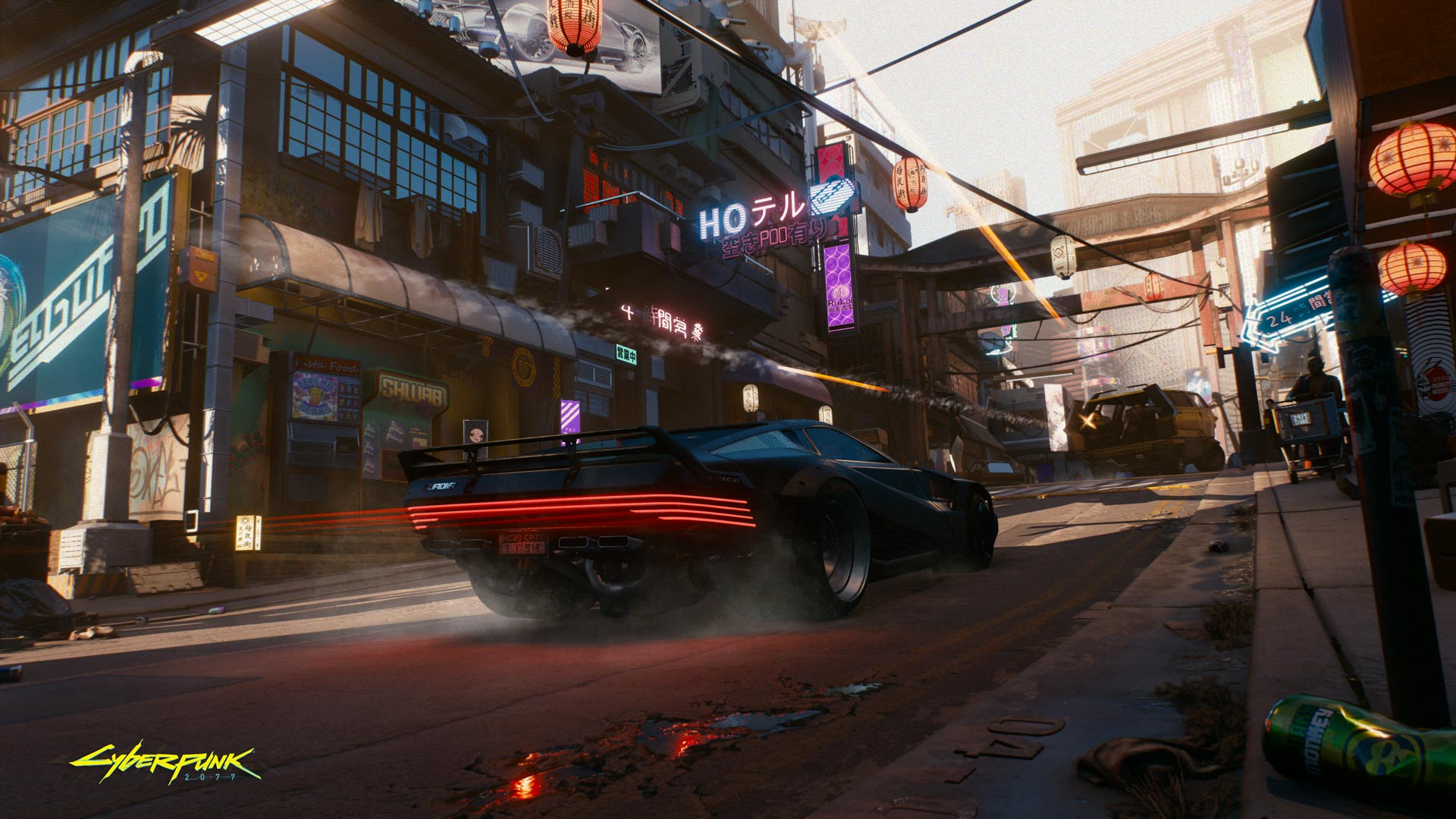 The next Cyberpunk 2077 stream takes on the most important feature of an RPG: The cars screenshot
