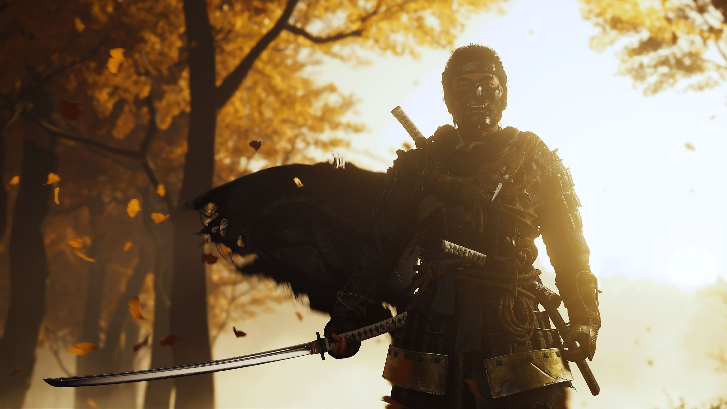 Ghost of Tsushima can hit 60FPS with PS5's Game Boost screenshot
