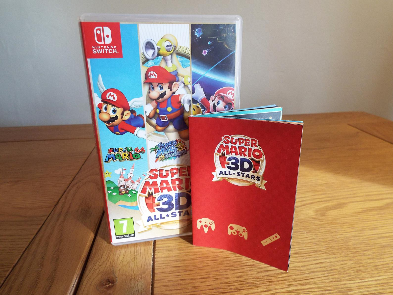 This fan-made Mario 3D All-Stars manual looks official screenshot