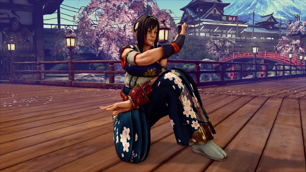 Karin's Fighting EX Layer costume sees Street Fighter V reconnect with its legacy screenshot