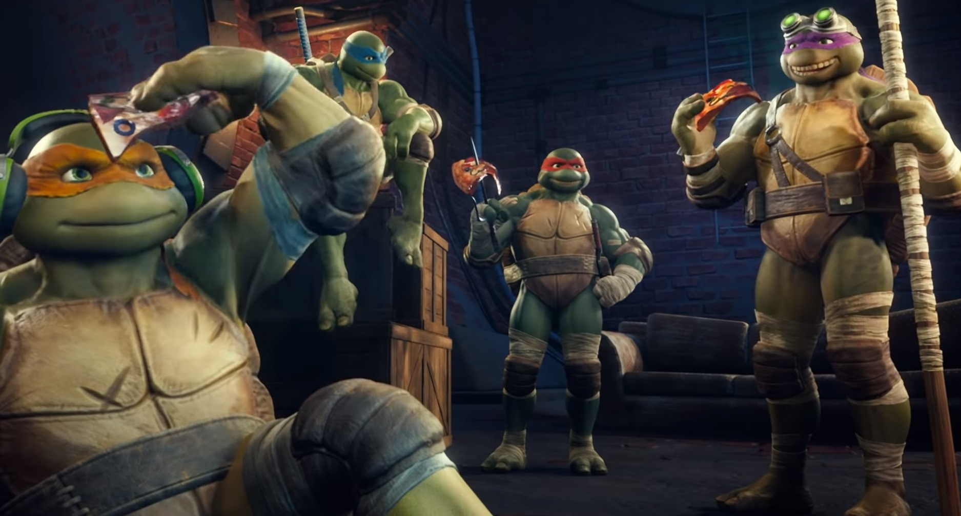 The Turtles, yes those Turtles, are coming to Smite screenshot