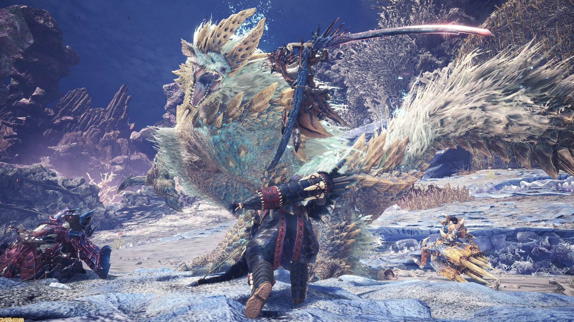 Most and least popular Monster Hunter World: Iceborne monsters revealed by Capcom screenshot