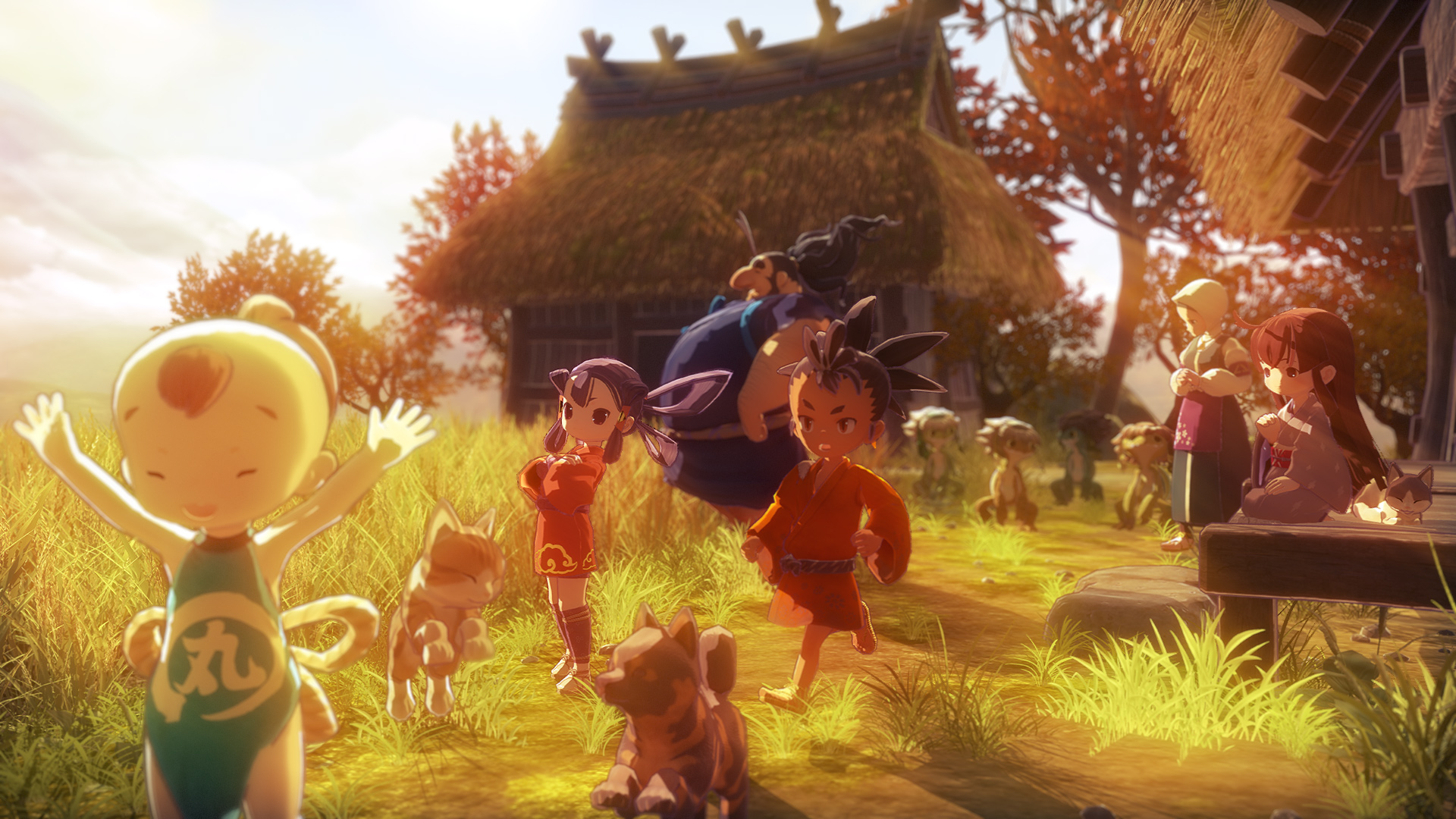 Sakuna: Of Rice and Ruin will be buried in November, but I'm pumped to play it screenshot