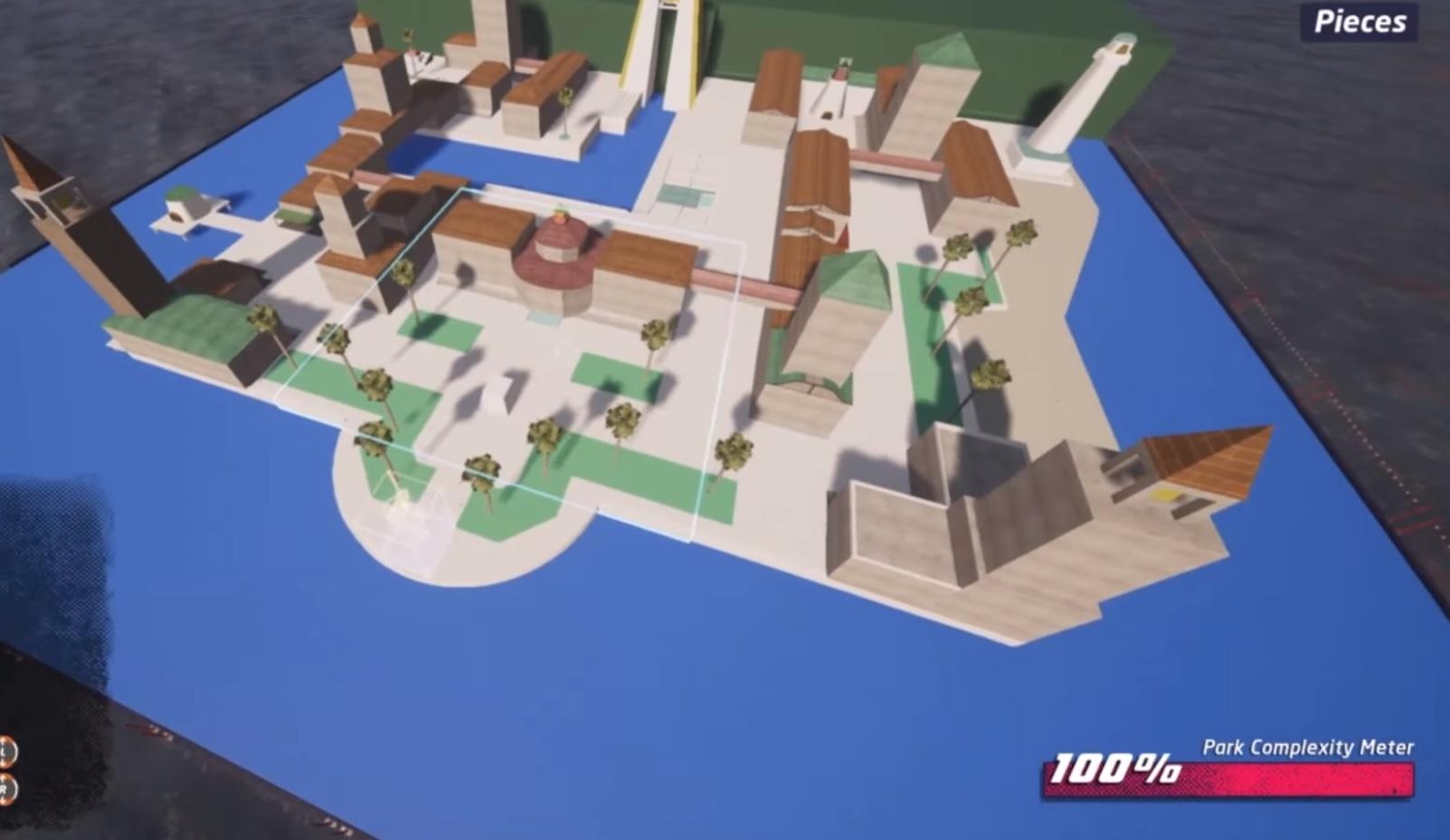 Mario's Delfino Plaza and Bomb-Omb Battlefield look great as Tony Hawk levels screenshot