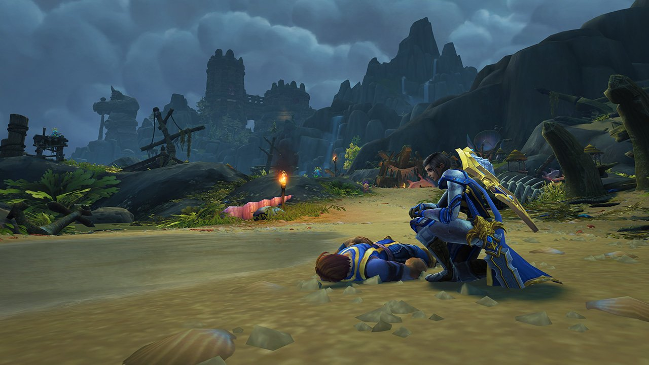 World of Warcraft's Shadowlands pre-patch and the companion app are now live screenshot