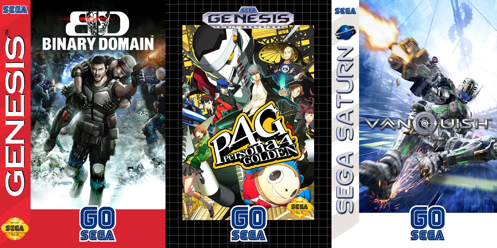 Binary Domain looks great as a Sega Genesis game