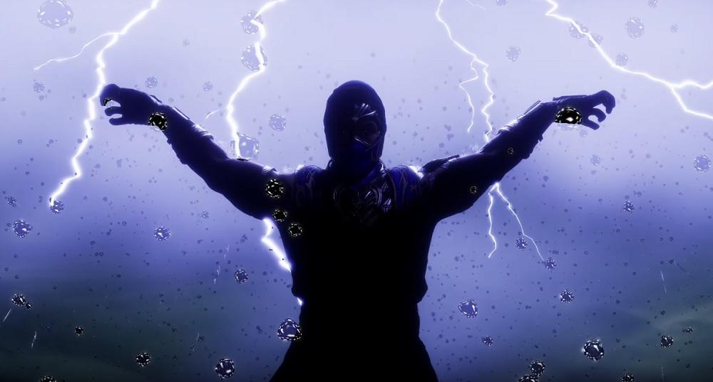 Mortal Kombat 11 Rain trailer warning: You Will Get Wet screenshot