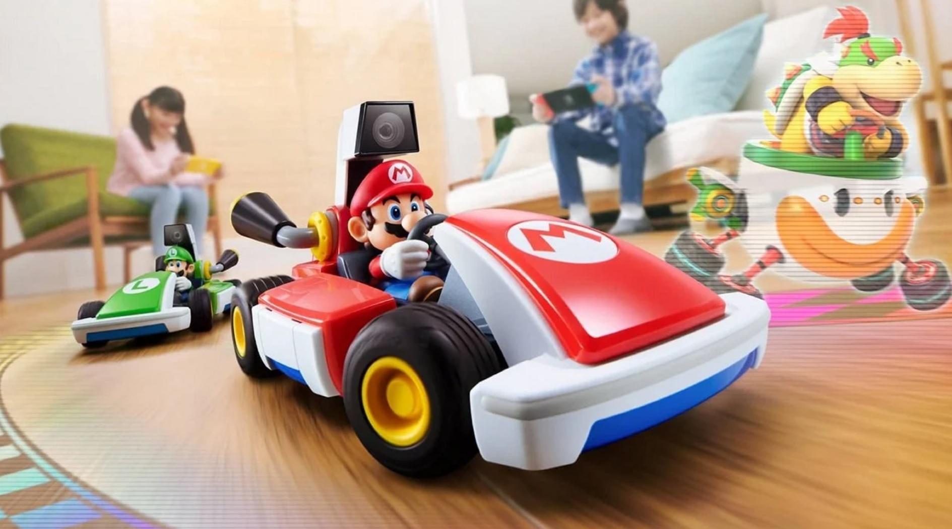 Nintendo Download: Mario Kart Live: Home Circuit screenshot