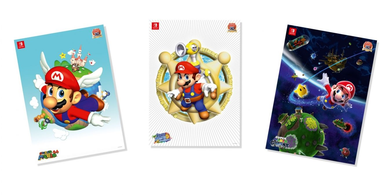 My Nintendo UK is offering these Mario posters for 300 Platinum Points screenshot