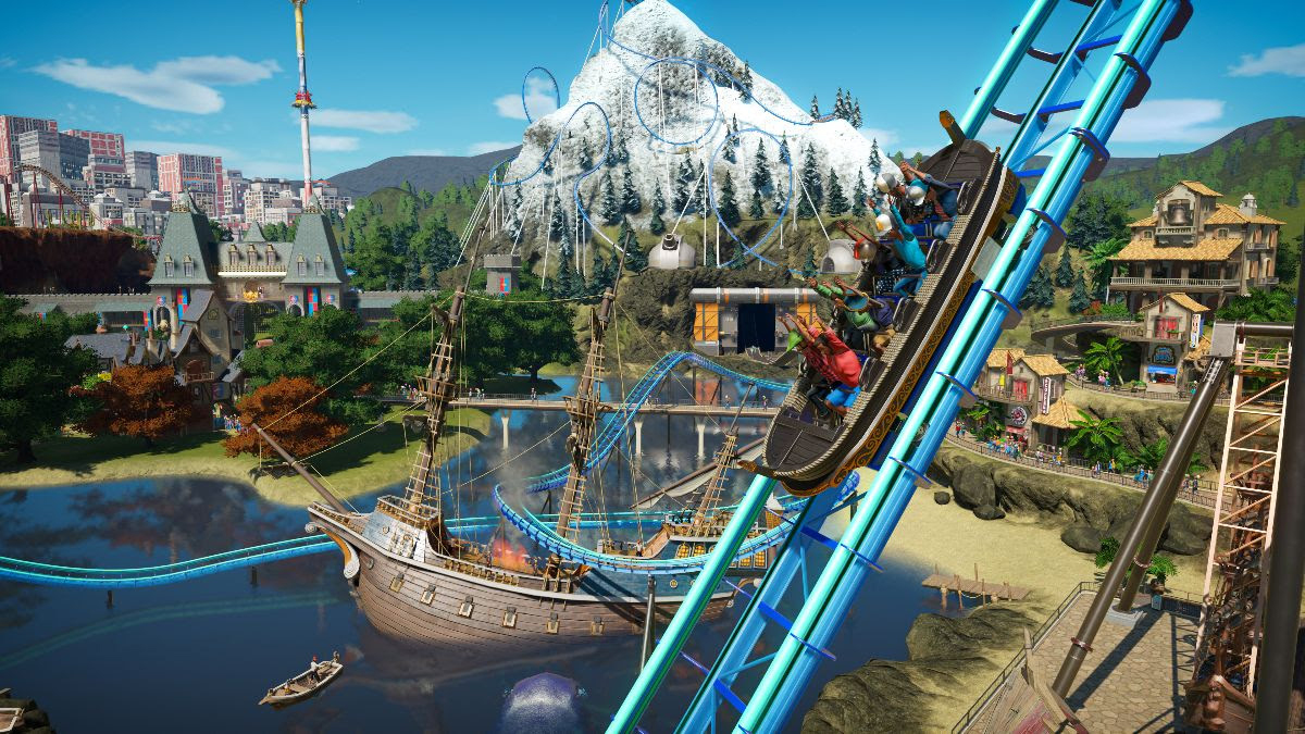 Planet Coaster: Console Edition will probably be the first game I buy for my Xbox Series S screenshot