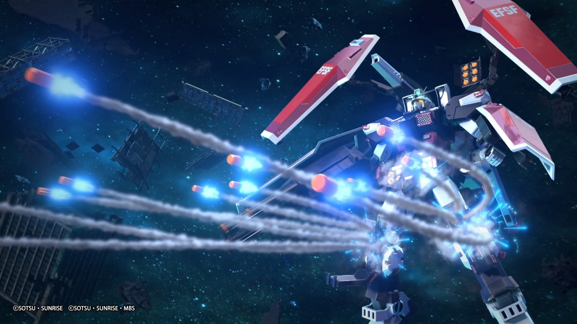 Mobile Suit Gundam Extreme Vs. Maxiboost On adds a new mode and a Wi-Fi indicator screenshot
