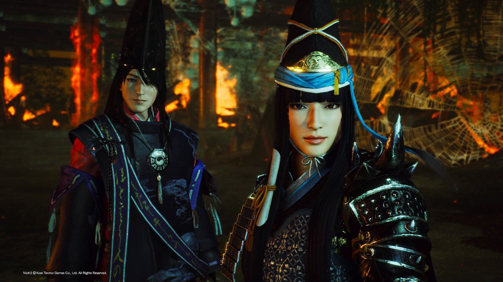 Review: Nioh 2: Darkness in the Capital screenshot